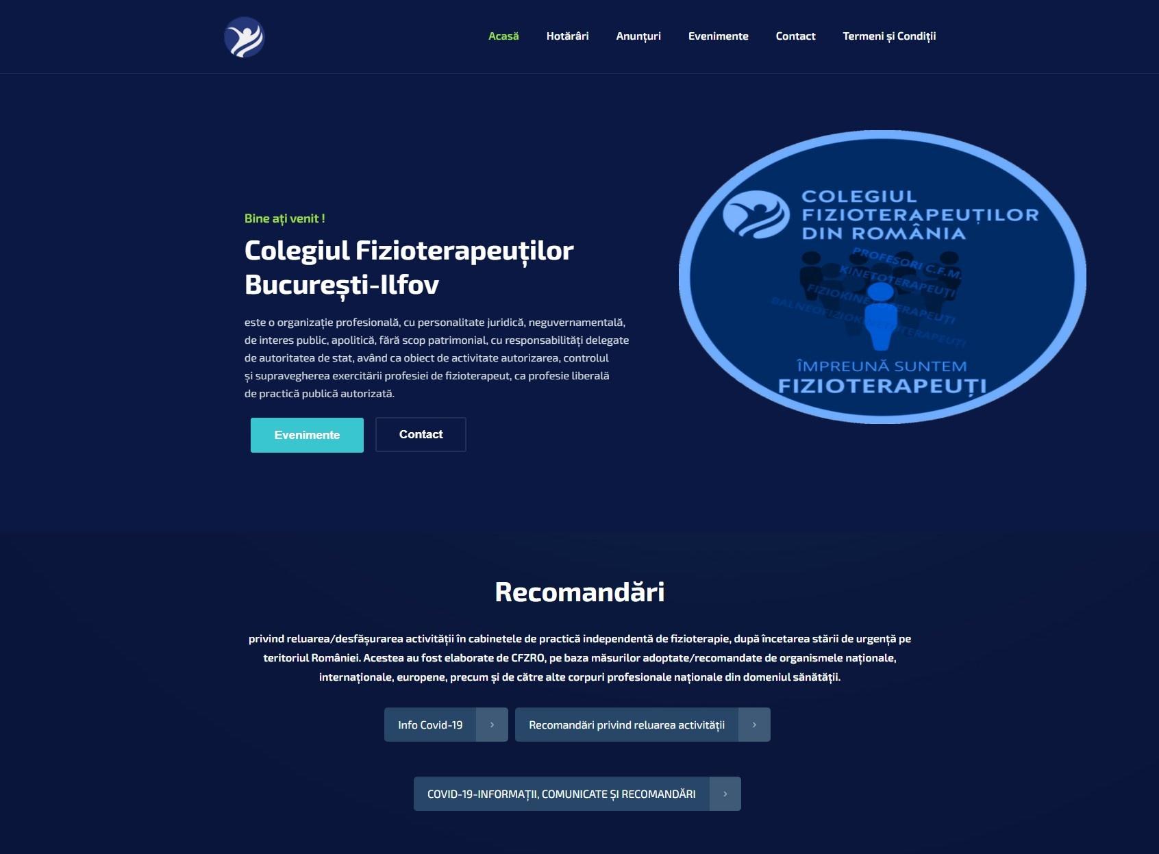 Colegiul Fizioterapeuților București-Ilfov